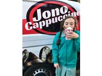 Mobile espresso bar available for events, shows and festivals