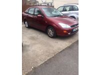 FORD FOCUS GHIA AUTOMATIC 1.6/ EXCELLENT CONDITION/82K/SERVICE HISTORY/£860