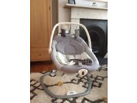 Joie Serena 2 in 1 bouncer / swing seat for 0-6 months
