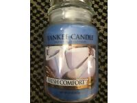 Rare and Retired Yankee candle Fresh Comfort