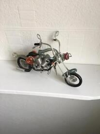Wired cable motorcycle ornament