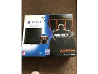PS4 console 2tb hdd and games
