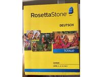 Rosetta Stone German levels 1-5