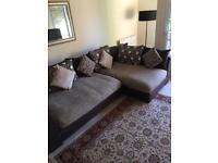 DFS Sinan (Latte) L-Shaped Sofa