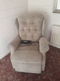 Woburn Single Motor Standard Recliner Chair AS NEW
