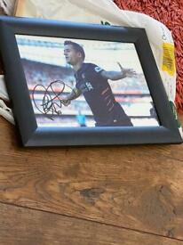 Signed Coutinho Photo -Frame