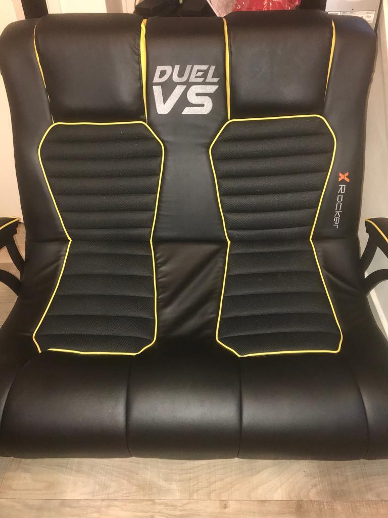 Double Gaming Chair X Rocker May Swap For Ps4 Controller In