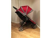 Baby Jogger City Mini Double (Red) Excellent condition *REDUCED*