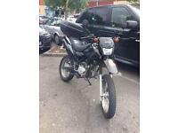 2015 50cc geared trials bike