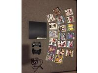 PlayStation 3 with games
