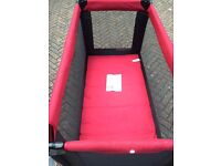Barely Used Travel Cot