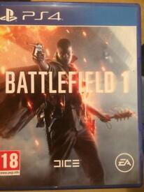 Ps4 games battlefield 1 & uncharted 4