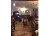 Licensed cafe restaurant in Stockport shopping center