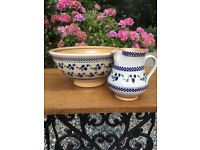 Nicholas Mosse matching large bowl and jug