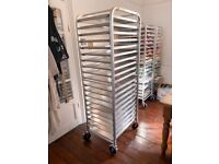 Kitchen Trolleys WITH 20 TRAYS