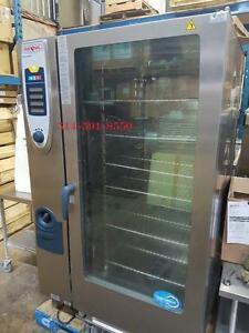 RATIONAL FOUR COMBI CONVECTION  OVEN  GAS GAZ Rational Care Control