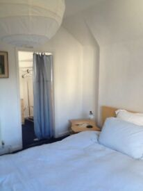Spacious, bright room with dressing room, ideal for relaxing or study.