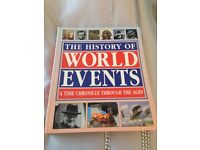 The History world events