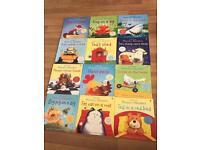 12 books Usborne phonics readers