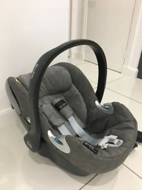 CYBEX Cloud Q Baby Car Seat and ISOFIX Base