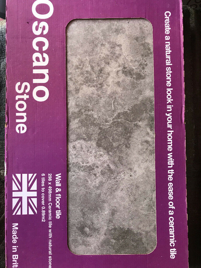 Wall and floor tiles - natural stone look  Brand new still in box   in  Bishop Auckland, County Durham   Gumtree