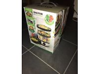 Salter let's go heathy 3-tier steamer with rice dish - NEVER USED