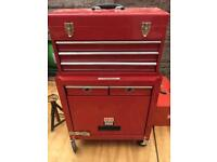 Full set of tools box jack and axel stands