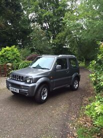 Suzuki Jimny JLX Plus. 4x4. Petrol. MOT August 2017. mileage:37125. one previous owner