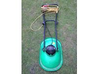 Flymo-style electric corded mower