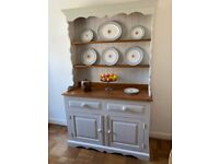 Painted Pine Dresser in Farrow and Ball Ammonite colour