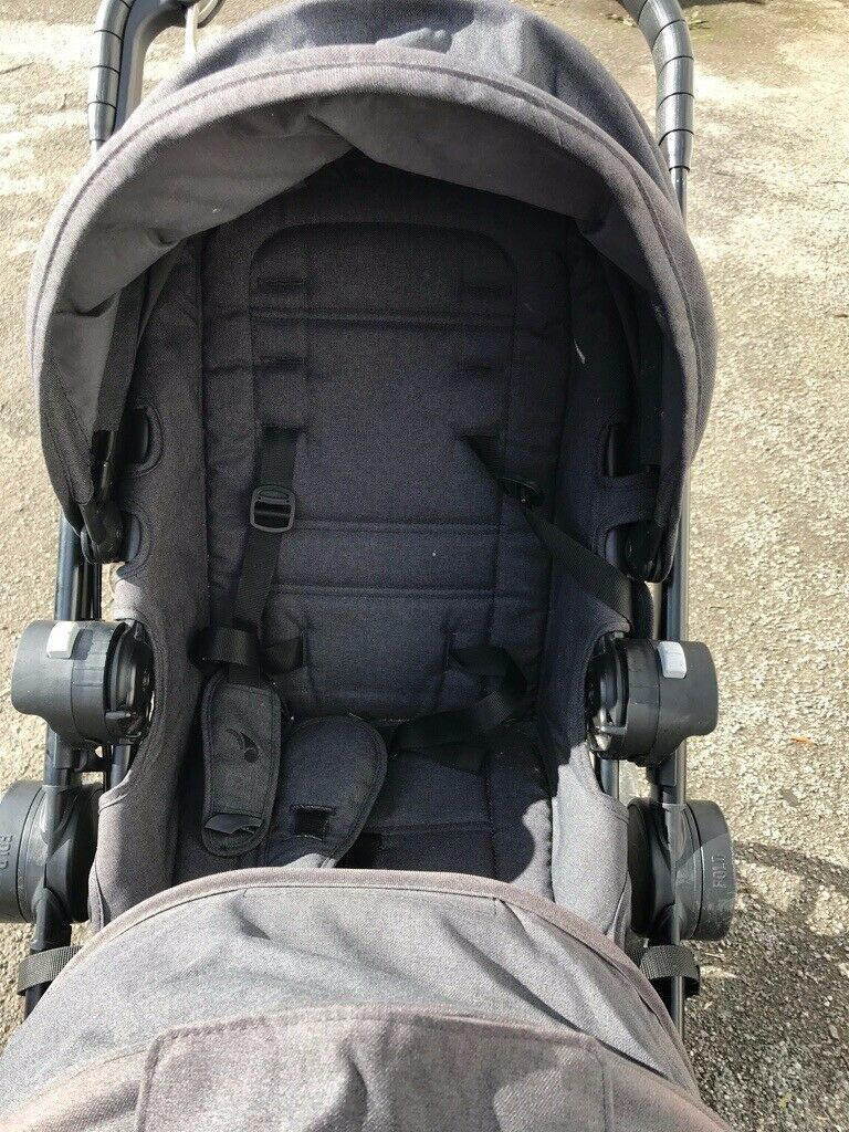 Baby Jogger Slate City Select Lux Tandem Pushchair Double