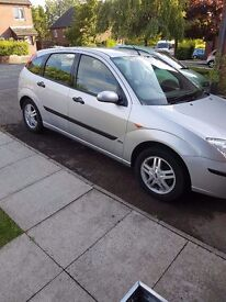 Ford focus 1.6 04 plate good car for price electric windows .cd player
