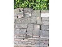 Block paving bricks approx 20m sq