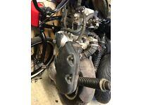 Vespa gts 300 engine