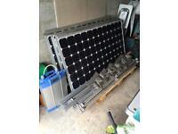 Solar panels and inverter