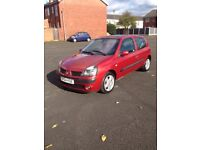 2004 Renault Clio 1.5dci, 7 months mot, 140k with part history, £30 a year road tax