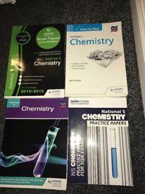 National 5 Chemistry books