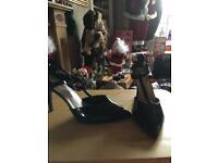 Ladies Black patent shoes