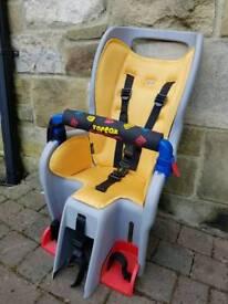 "Topeak Babysitter Child Seat inc Topeak pannier rack disc brake version for 26"" wheels"
