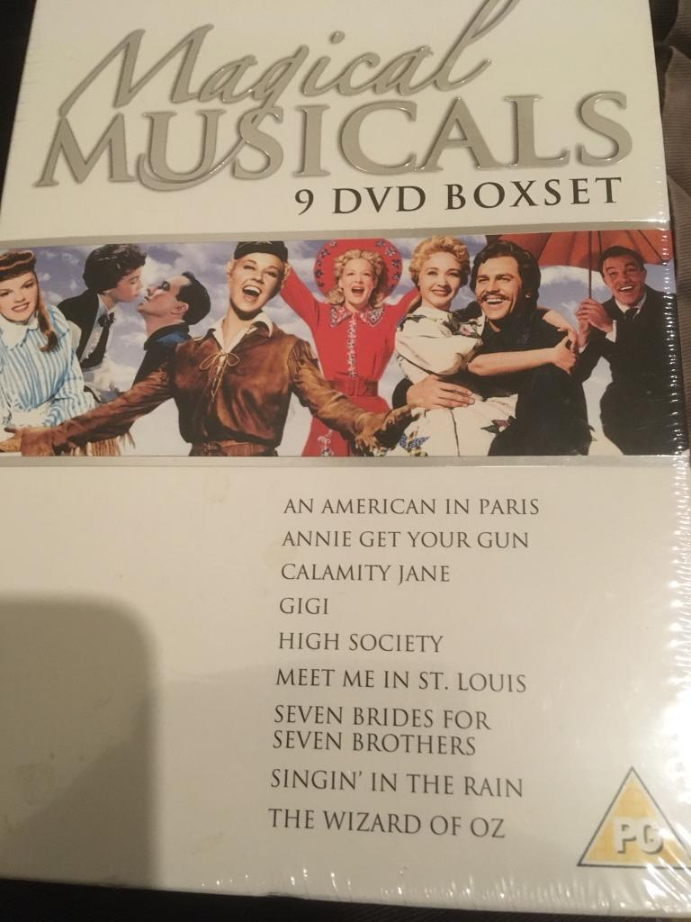 Magical musicals 9 dvd boxset | in Hessle, East Yorkshire | Gumtree