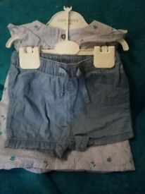 girls clothing 9-12 months
