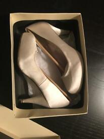 NEXT Cream Wedding Shoes Size 5