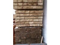 🌟 Pressure Treated Timber Railway Sleepers / Garden Projects / Building