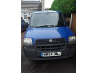 Fiat doblo 2004,service history, used for my garden maintenance bussines since 2005.