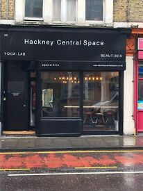 Beautiful Pop Up Shop / Space Hire in Hackney Central - Cheap rental from £22 per hour