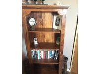 Lovely bookcase, dark brown