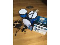 Kids Drum Kit & accessories £50