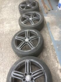 18inch audi alloys for sale