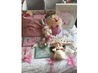 Goodies for baby girl bedroom