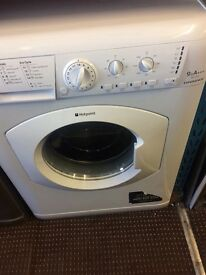 HOTPOINT 9kg WASHING MACHINE RELAIABLE MODEL FREE DELIVERY AND WARRANTY